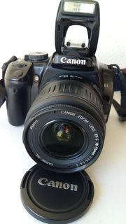 Einsteiger digitale Spiegelreflexkamera Canon eos