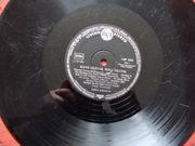 4 Langspielplatten 50er Jahre Sammlerstücke