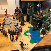 lego Rapid River Village