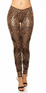 Sexy KouCla Leggings mit Schleifen