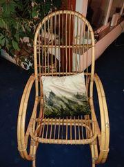 Schaukelstuhl aus Bambus