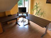 Schreibtisch Farbe Walnuss