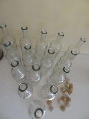 15 Glasflaschen 0 75 ml