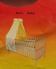 Babybett komplett Set