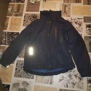 122 128 Regenjacke Jacke blau