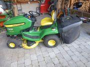 Rasenmäher-Traktor John Deere X300R