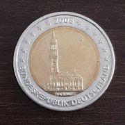 2 Euro Münze 2008 Prägestätte