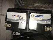 2 AGM Aufbaubatterien von Varta