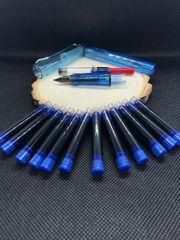 Füller - Transparent Blau 12 Patronen