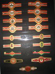 Raritäten Zigarren Banderole Bauchbinde Zigarrenring