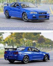 Modellautos Nissan Skyline GT-R R34