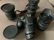 Canon EOS 2000d inkl 4