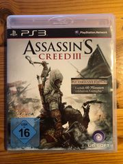 PS3 Assassins Creed 3 Exklusive