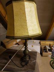Tischlampe mit Schirm Schweineblase