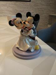Deko Tortenfigur Brautpaar Mickey Mouse