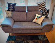 Sofa Couch Grau Büroauflösung