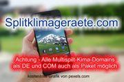 Top-Level com Domain - Splitklimageraete com -