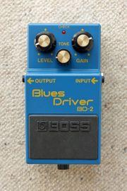 Boss BD-2 Blues Driver aus