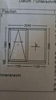 Terassen- Balkon Schiebetür anthrazit