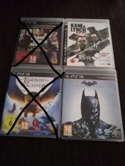 4 x PS 3 Spiele