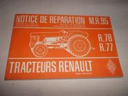 Reparaturanleitung Schlepper Renault M R