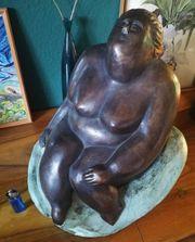 Große moderne Bronze Frauenakt Akt