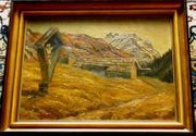 Ölgemälde Hünerkopf 1914-2000 B008