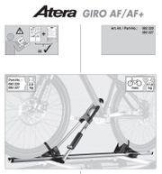 Fahrradträger Atera 3 er mit