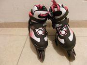 Inline-Skates Rollerblades - schwarz weiß pink