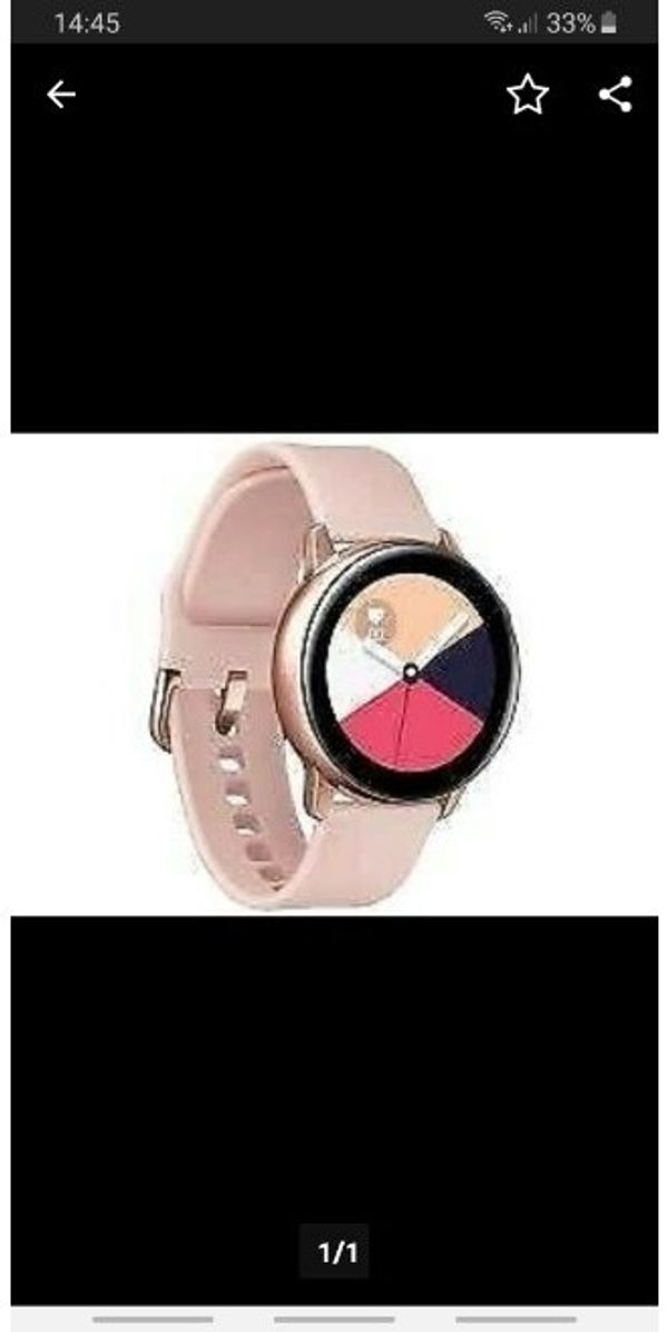 samsung watch active wie NEU