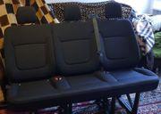 Neuwertige 3er Sitzbank Renault Trafic