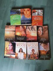 Barbara Wood 11 Taschenbücher guter