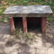 grill unterbau steinplatten