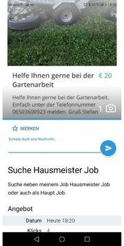Suche Job als Hausmeister