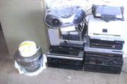 Elektrogeräte abzugeben Komplett