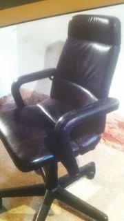 Echt Leder Büro stuhl
