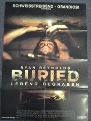 2010 Orginal Plakat A1 Buried