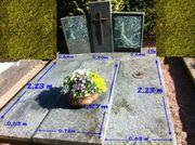 Grabstein mit Abdeckung zu verschenken