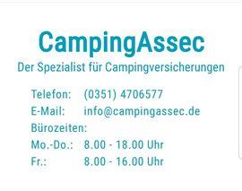 Campingartikel - DAUERCAMPING VERSICHERUNG nur 11 16