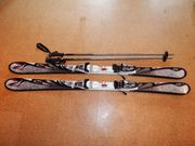 K2 Damen Skier inkl Stöcke