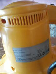 Wachs und Poliermaschine in Gelb