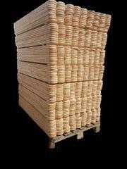 Zaunlatten 60x9x2 100 Stück sibirischen