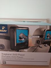 Tragbarer DVD Player mit 2