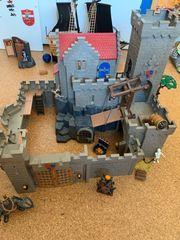 Playmobil große Ritterburg mit viel