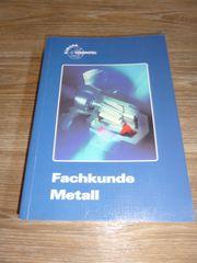 Fachbuch Fachkunde Metall