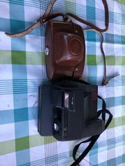 Verkaufe zwei Fotoapparate Agfa und