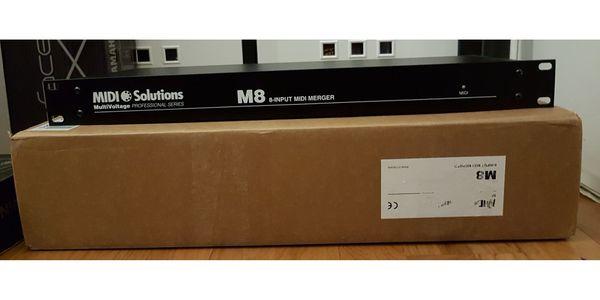 MIDI Solutions M8 Merger - passiver