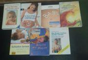 Verschiedene Bücher zum Thema Baby