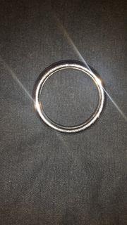 Metallring Silber abzugeben