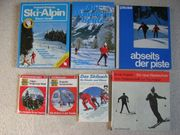 Ski-Karten Langlauf Loipe
